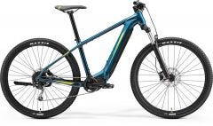Merida eBig Nine 400 Electric Mountain Bike Teal Blue/Lime (2021)