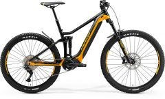 Merida eOne Forty 400 Electric Mountain Bike Black/Orange (2021)