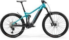 Merida eOne Sixty 700 Electric Mountain Bike Glossy Metallic Teal Anthracite (2021)