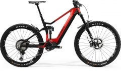 Merida eOne Sixty 9000 Electric Mountain Bike Glossy Red/Matt Black (2021)