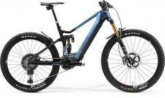 Merida eOne Sixty 10K Electric Mountain Bike Glossy Sparkling Blue/Matt Black (2021)