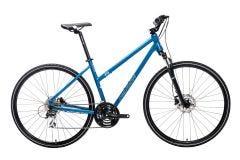 Merida Crossway 20 Women's Hybrid Bike Blue Steel/Blue/White (2021)