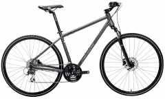 Merida Crossway 20 Hybrid Bike Silk Anthracite/Grey/Black (2021)