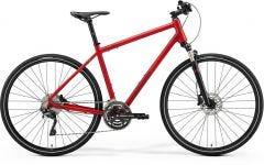 Merida Crossway 500 Hybrid Bike Matt Burgundy/Red/Dark Red (2021)