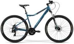 Merida Matts 7.10 D Women's Mountain Bike Blue/Teal (2021)