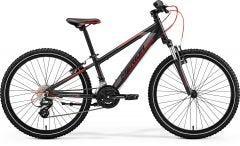 Merida Matts J24 Boys Bike Black Grey/Red (2021)
