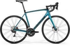 Merida Scultura 4000 Road Bike Black/Teal Blue (2021)