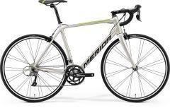 Merida Scultura Rim 100 Road Bike Silk Titan/Black/Green (2021)