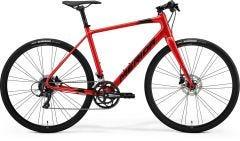 Merida Speeder 200 Flat Bar Road Bike Golden Red/Black (2021)
