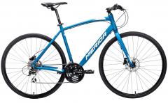 Merida Speeder 20 Flat Bar Road Bike Matt Blue/White (2021)