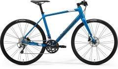 Merida Speeder 300 Flat Bar Road Bike Silk Blue/Dark Silver (2021)