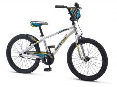 "Mongoose 20"" Racer X Kids Bike [Silver] (2017) 