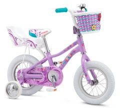 "Mongoose 12"" Lilgoose Girls Bike [Purple] (2017) 