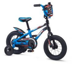 "Mongoose 12"" Lilgoose Girls Bike[Black/Blue] (2017) 