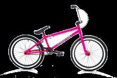 Forgotten Misfit BMX Bike 19.8 Inch TT Gloss Neon Pink (2019)