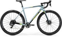 Merida Mission CX Force Edition Adventure Road Bike Glossy Sparkling Blue/Black/Lime (2020)