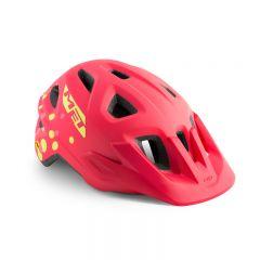 MET Eldar MIPS Girls Helmet Coral Pink Dots