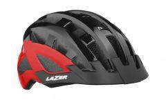 Lazer Compact DLX MIPS Helmet Black Red 54-61cm