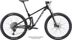 Norco Fluid FS 1 27 Mountain Bike Black/Silver (2021)