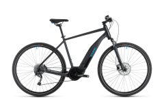 Cube Nature Hybrid ONE 400 Electric Hybrid Bike Iridium/Blue (2020)