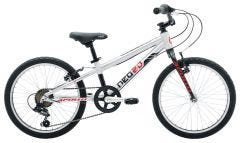 Bike18 NEO 6S Boys 20 Brushed Alloy Blk Red