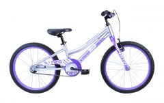 Neo Girls Bike 20 Inch Purple/Silver (2020)