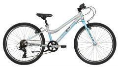 Neo 24 7s Girls Bike Sky Blue/Charcoal (2020)