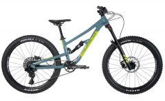 Norco Fluid 4.1 FS Kids Mountain Bike Slate Blue/Slime Green (2020)
