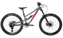 Norco Fluid 4.2 FS Mountain Bike Charcoal Grey/Candy Apple Red (2020)