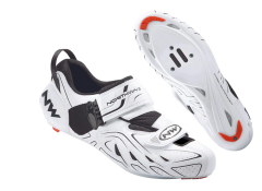 Northwave Tri-Sonic Triathlon Shoes White
