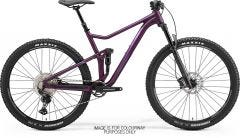 Merida One Twenty 600 Mountain Bike Matt Dark Purple/Purple/Silver (2021)