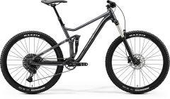 Merida One Twenty 7 400 Mountain Bike Glossy Anthracite/Silver (2020)