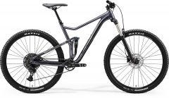 Merida One Twenty 9 400 Mountain Bike Glossy Anthracite/Silver (2020)
