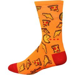 Defeet Aireator 6 Inch Pizza Party Socks