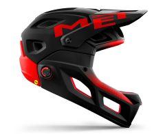 Fullface Met Parachute MCR Black/Red