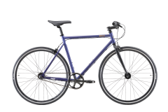 Pedal Messenger 3 Berlin Flat Bar Road Bike Midnight Blue