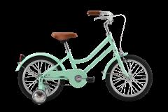 Pedal Uptown Junior 16 Girls Cruiser Bike Mint Green