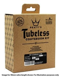 Peatys Tubeless Conversion Kit 25mm XC/Urban