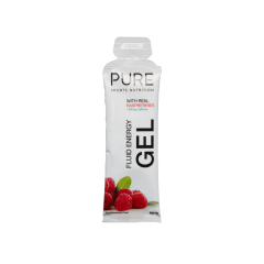 Pure Fluid Energy Gel Raspberry Caffeine 50g