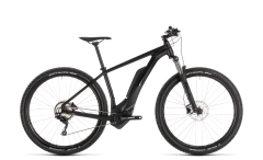 Cube Reaction Hybrid Pro 400 Black Edition E-Mountain Bike (2019)