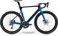 Merida Reacto 8000-E Road Bike Black/Light Blue (2021)