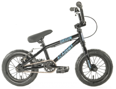 "Academy Origin 12"" Kids Bike Gloss Black (2020)"