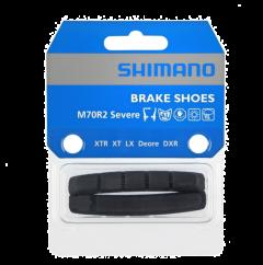 Shimano M70R2 V-Brake Pad Inserts With Pins Pair