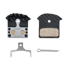 Shimano XTR J04C Metal Disc Brake Pads With Fins