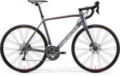 Merida Scultura Disc 300 Road Bike Silk Anthracite/Race Red (2020)