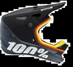 Helmet Fullface Youth 100% Status Kramer