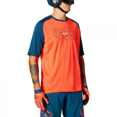 FOX Defend Short Sleeve Jersey Atomic Punch