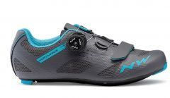 Northwave Storm Women's Shoes Anthracite/Aqua