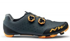 Northwave Rebel 2 Shoes Anthracite/Orange