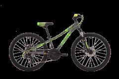 Silverback Skid 24 Suspension Kids Bike Storm Grey/Mint Green (2020)